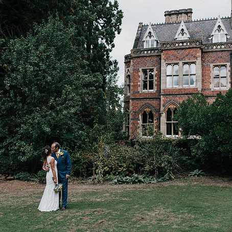 Small Victorian Gothic Mansion Wedding in Rugby