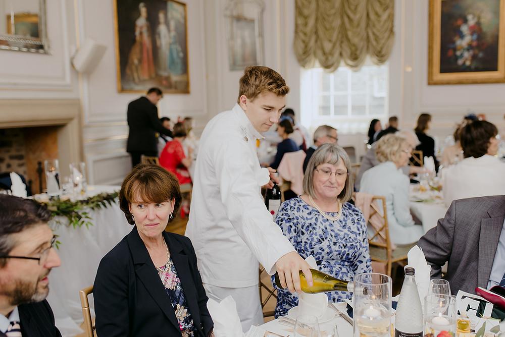 documentary wedding photographer candid moment