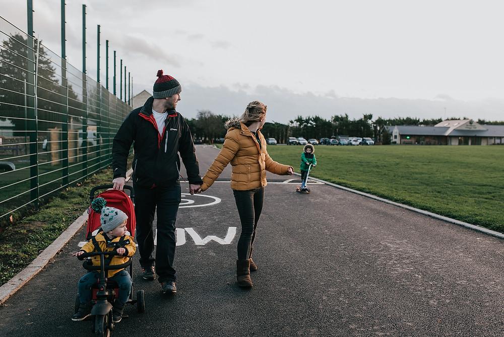 family walk warwickshire