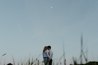 Golden Hour Pre Wedding Photography in the Countryside / Warwickshire Wedding Photographer
