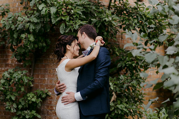 relaxed wedding couple sussex photographer