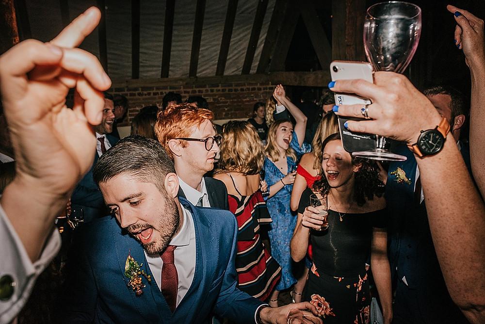 guests dancing wedding wiltshire