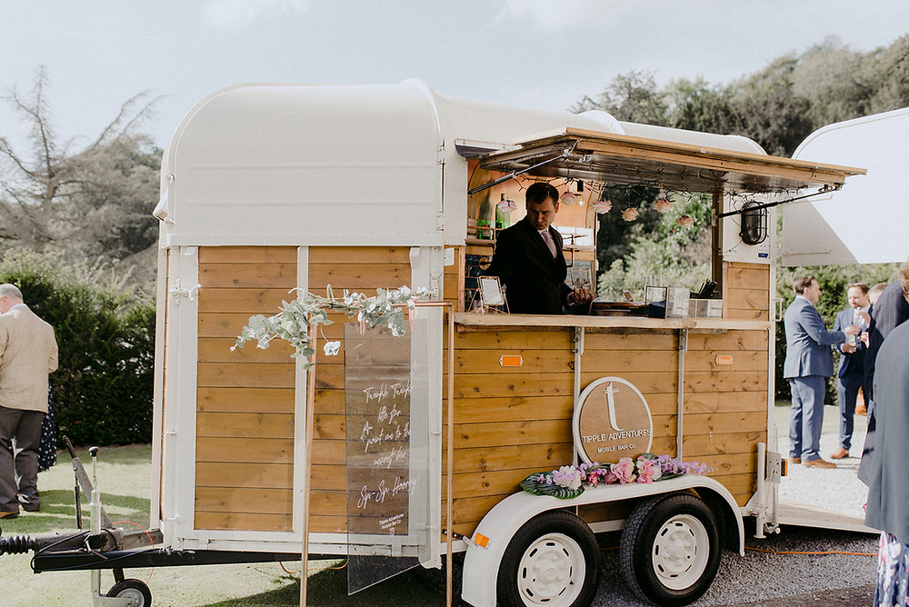 tipple adventures mobile bar for wedding
