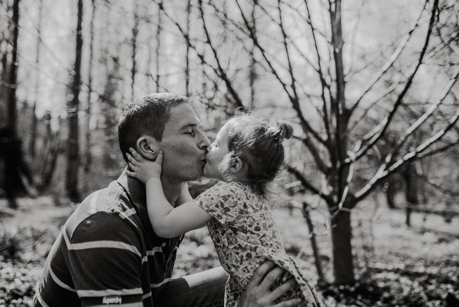 dad and daughter photography