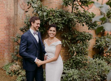 Wonderful Micro Wedding in Hamstead Heath / Wedding Photographer
