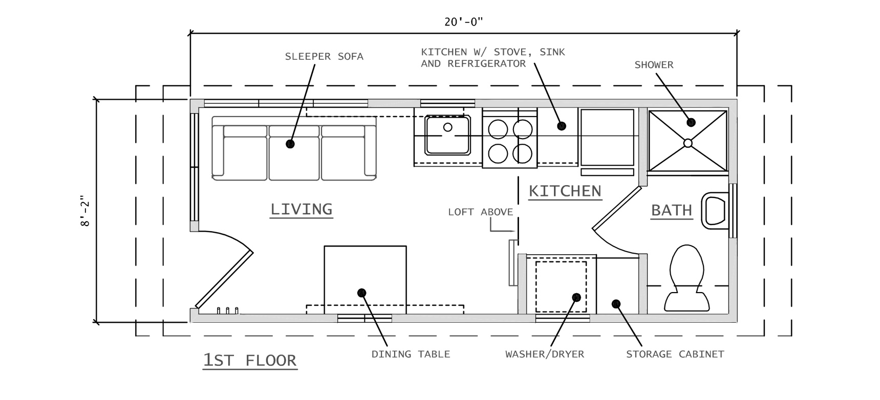 Features Tiny Houses Mobile Home Electric Furnace Wiring Diagram Off Grid Options Are Here