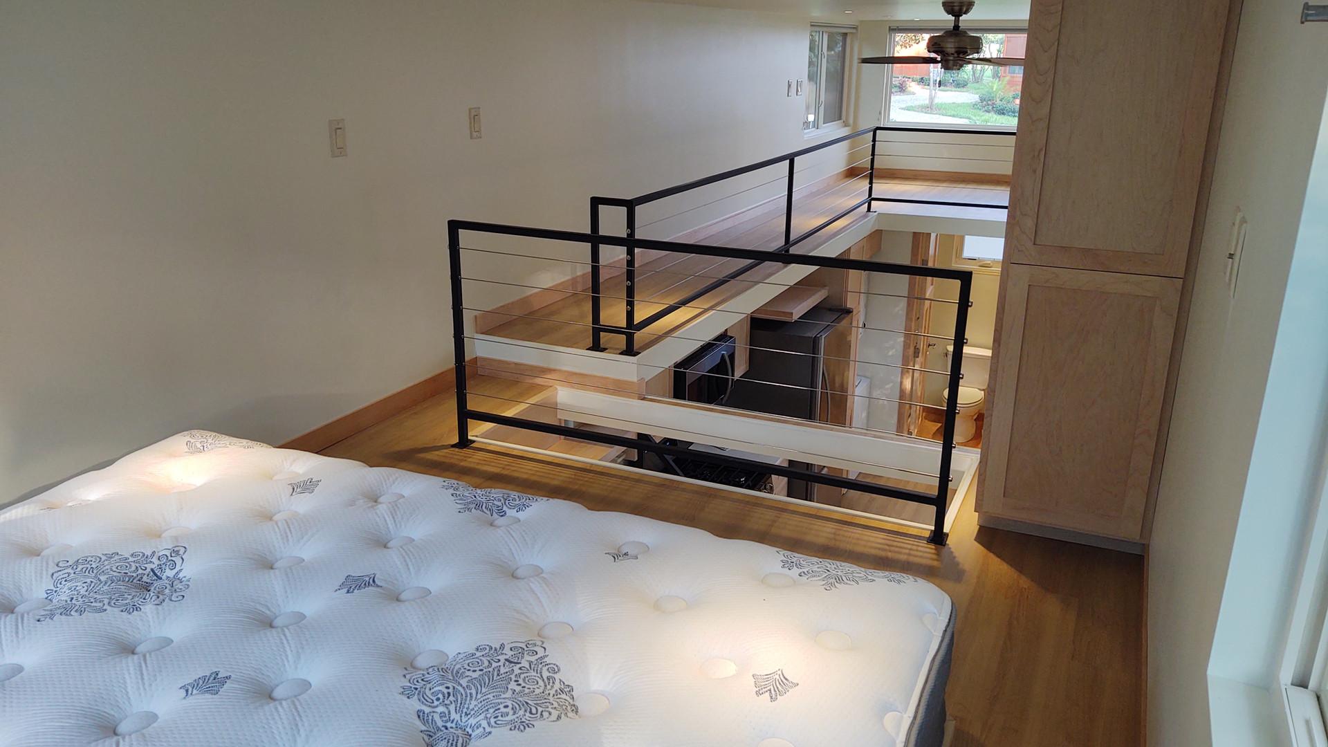 Bedroom Storage + Loft Walkway