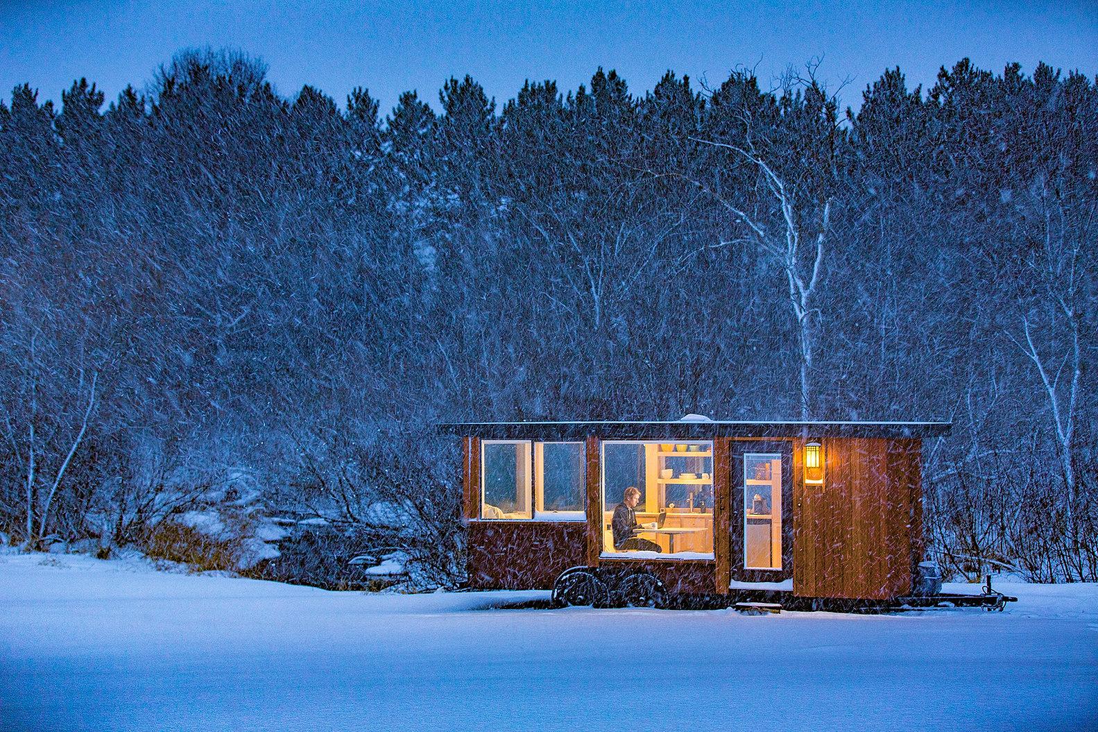 escape traveler tiny home, tiny house - ^