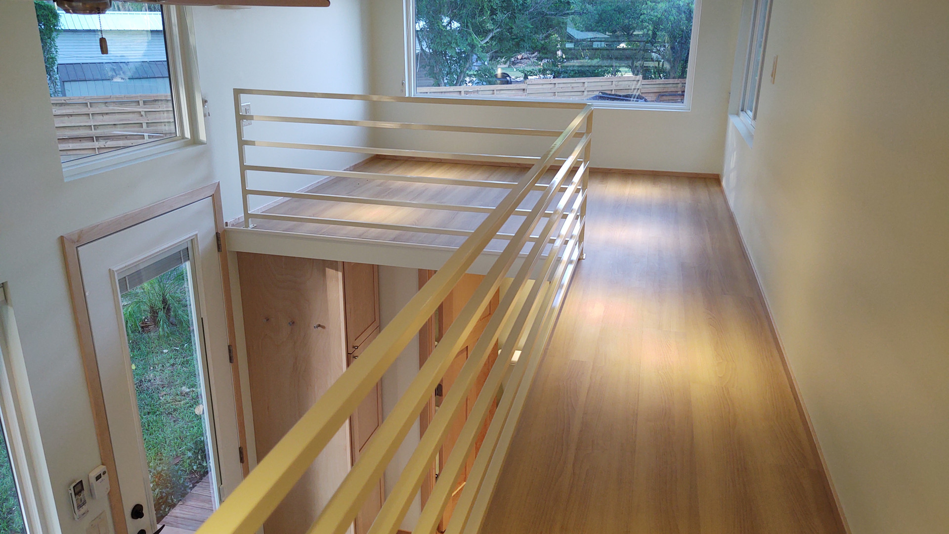 Skyway to Front Loft/Office
