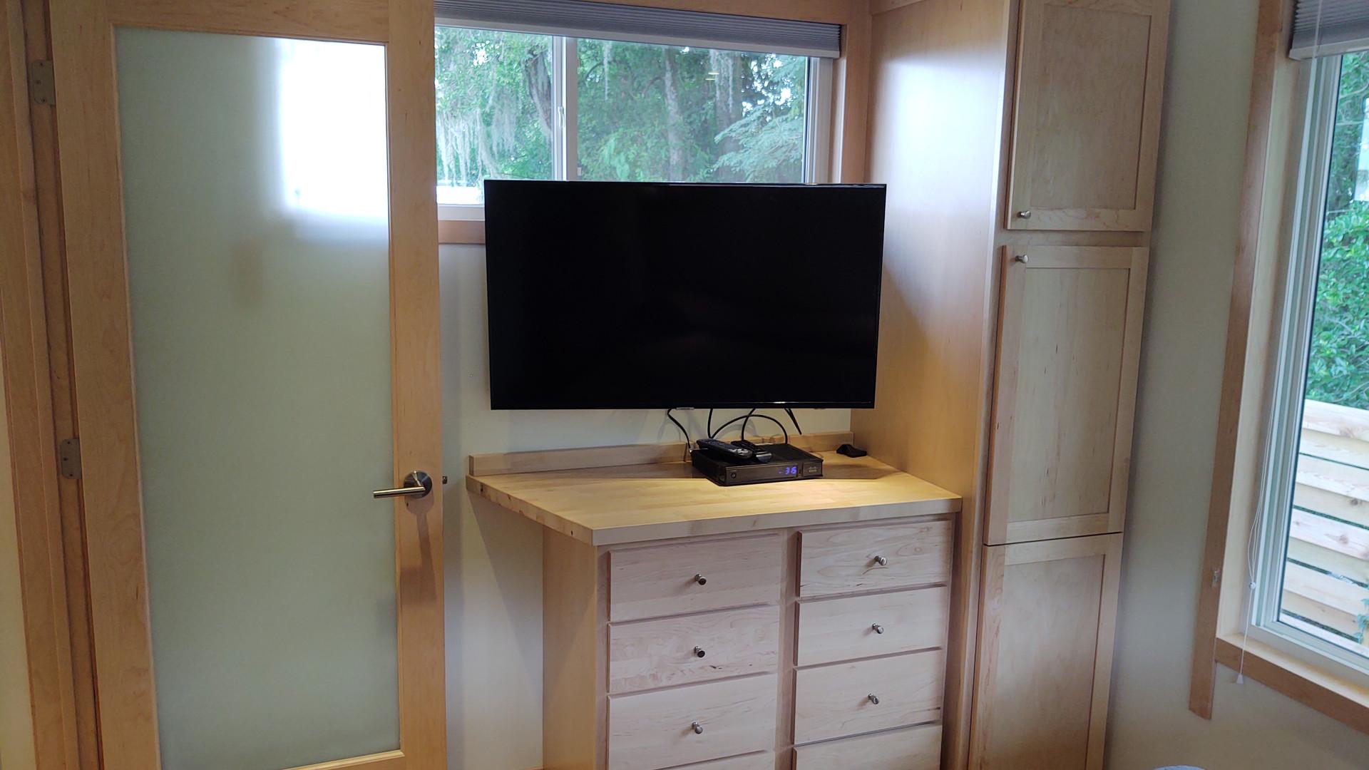 Second Bedroom Smart TV + Storage