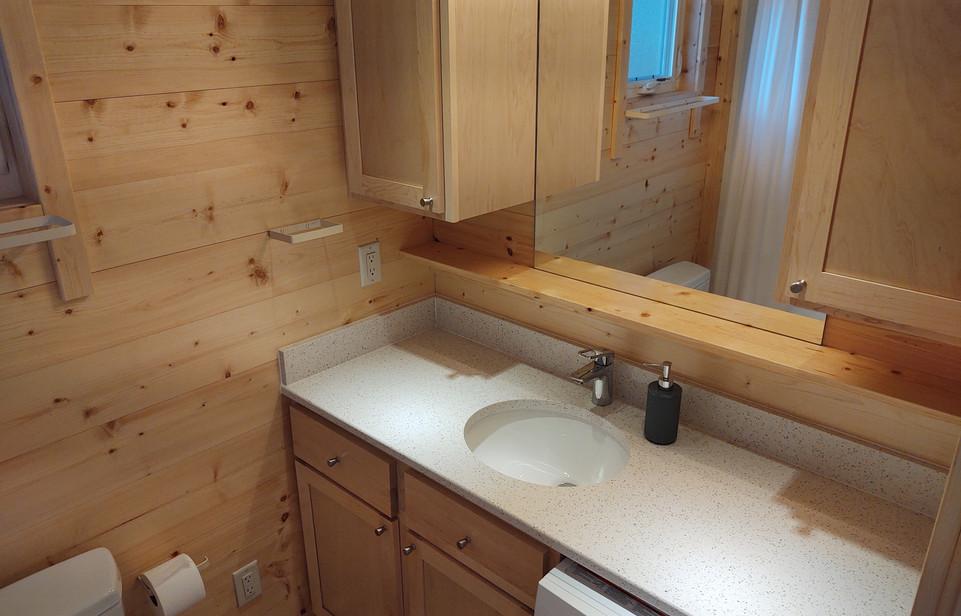 Bathroom Vanity + Washer/Dryer Combo