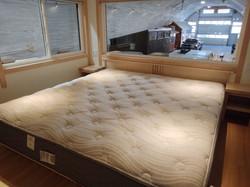 Wide version King bed walkaround