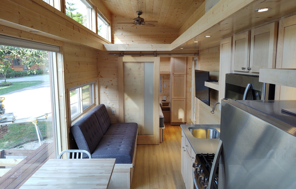 Lots of Natural Light with Pine Interior