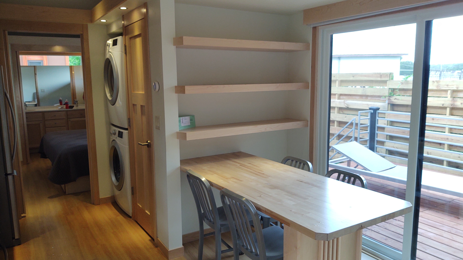Dining Table + Shelving