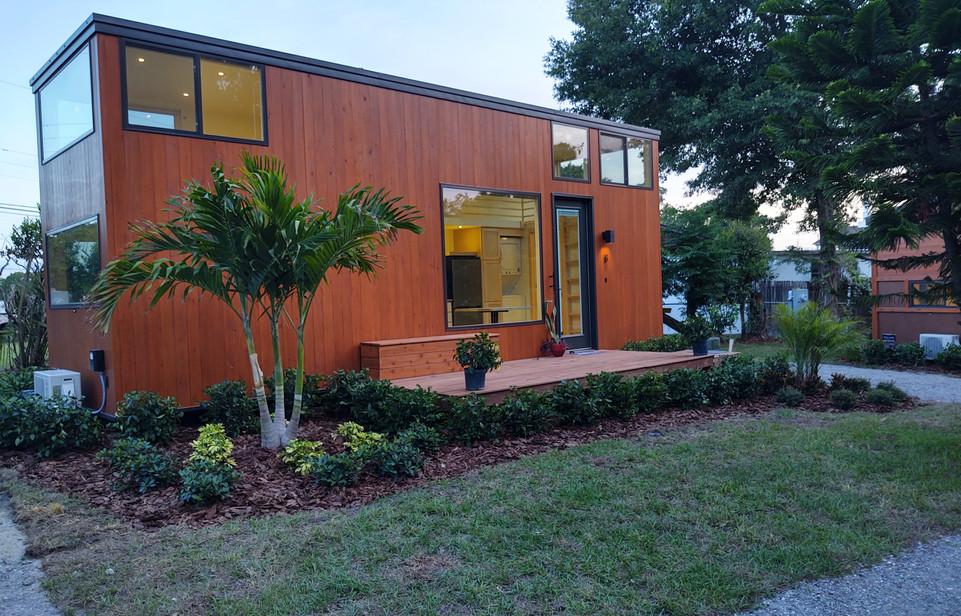 Cypress Exterior + Solar Power