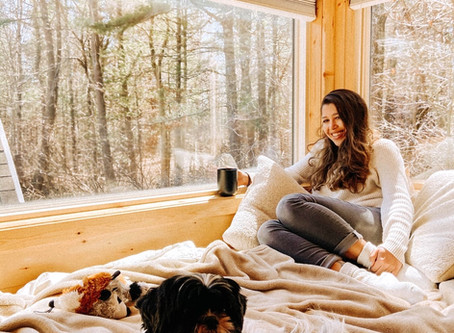 Grace's Plant-Filled Oasis Tiny Home inMassachusetts