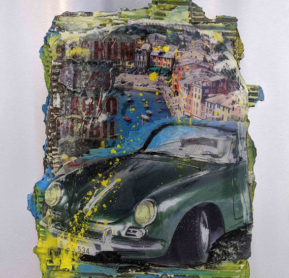 Porsche 911 green