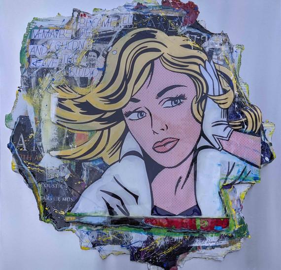 Roy Lichtenstein M-Maybe