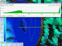 LiDAR Survey X-Section Analysis