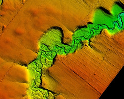 Agricultural Flood Plain LiDAR