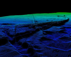 Pipeline profile LiDAR Survey