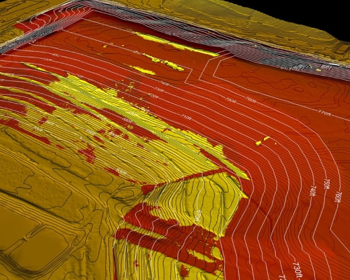 Mining Contours Mapping