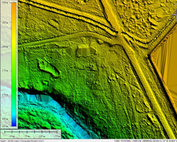 LiDAR DTM for Canal Plannning