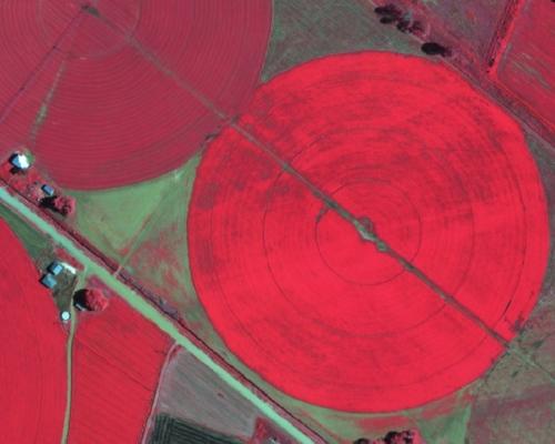 Agric High Resolution NIR Imagery