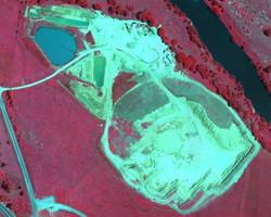 Mine Near Infrared 15cm Imagery