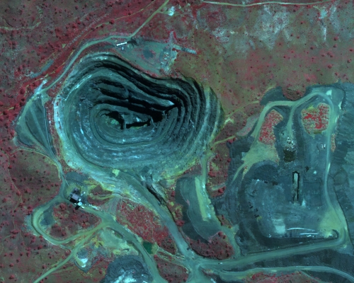 Mining Near Infrared 50cm Imagery