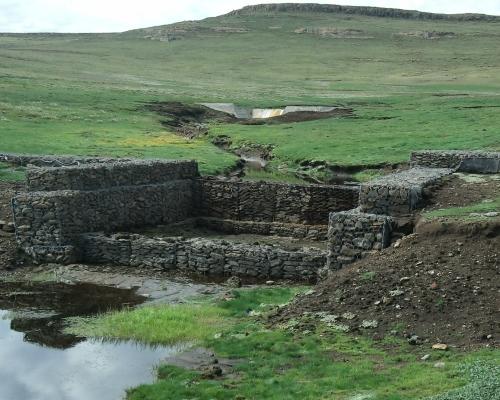 Agricultural Gabion Construction