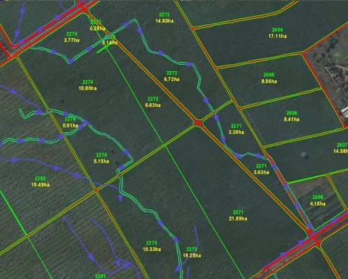 Sugar Cane GIS Layers