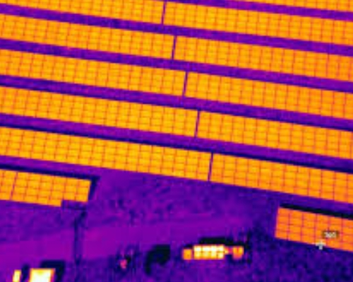 Solar Panels Infrared Thermal Survey