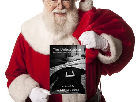 """I Couldn't Put It Down!"" Santa Claus"