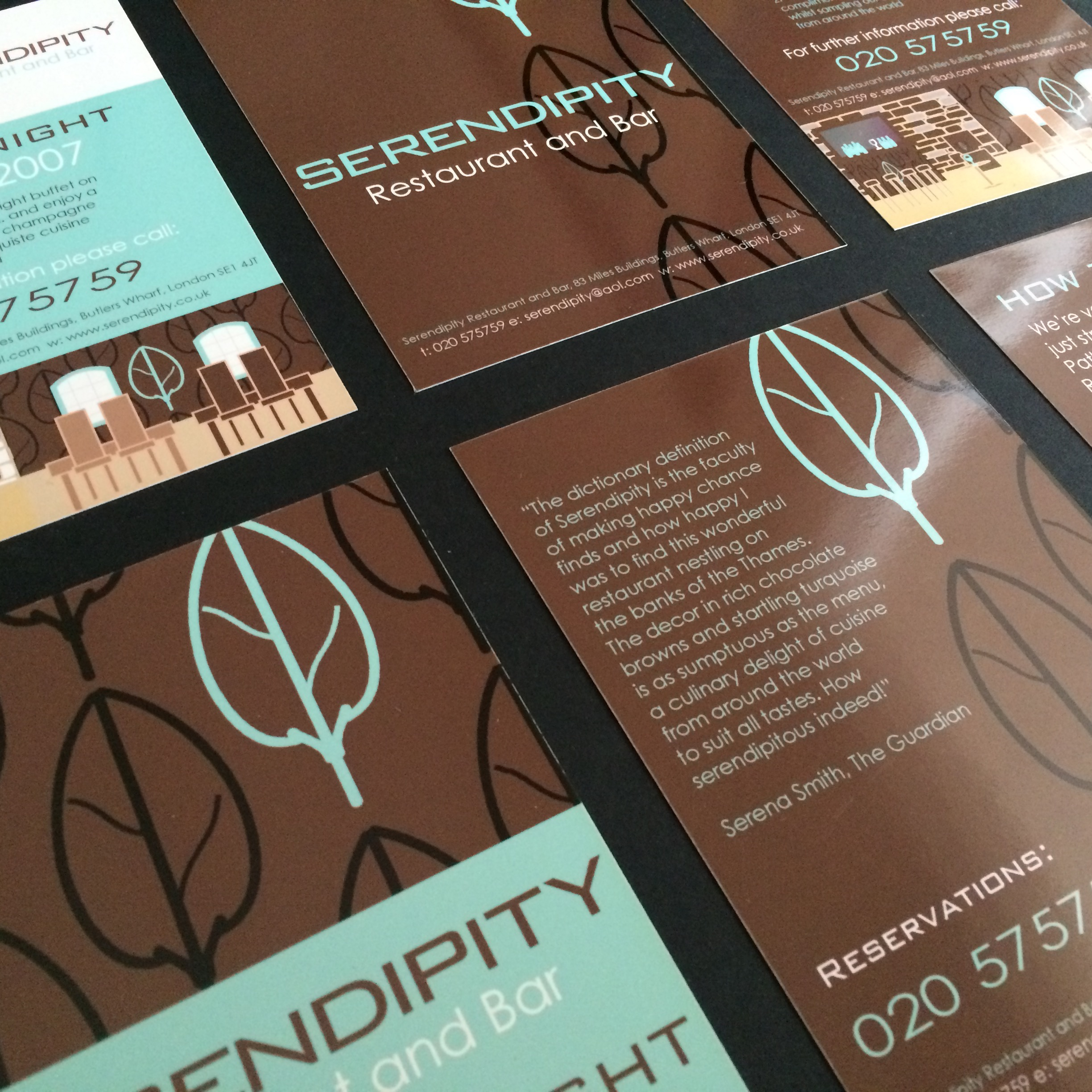 Flyer and leaflet design