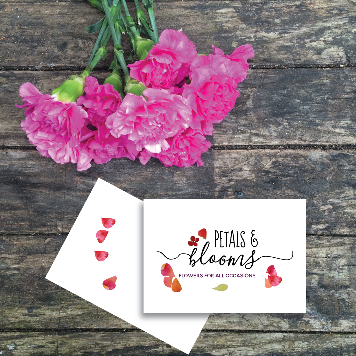 Logo design for florist