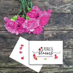 Logo design for florist