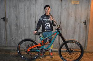 Alonso Barbour representing wheelie bike shop aston hill bike park firecrest