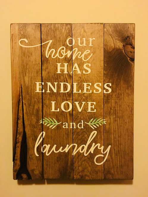 Endless love & laundry