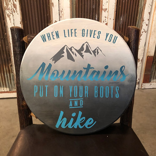 When life gives you moutains
