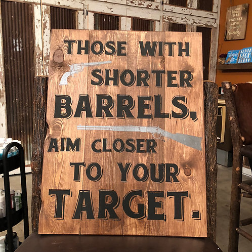 Shorter Barrels