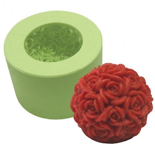 Forma de silicone Bola de Rosas - 165503