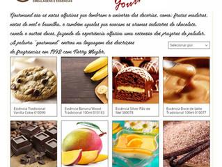 Essências Gourmand - Vocabulário Olfativo