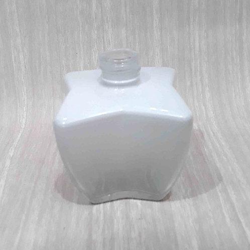Frasco de Vidro Difusor X Pintado Branco degradee 022100