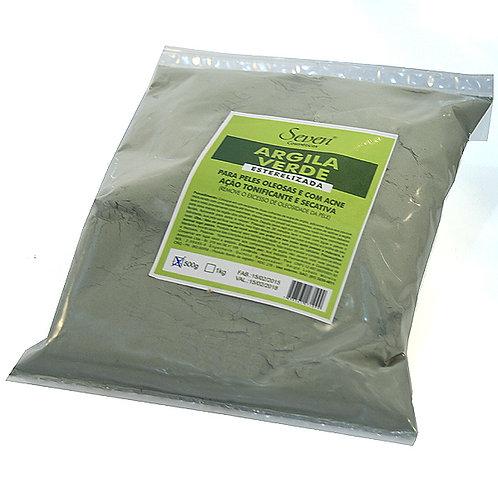 Argila Amaz. Verde  - 500g - 230122