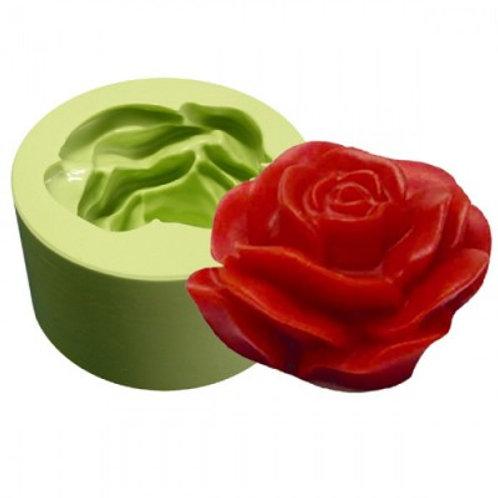 Forma de silicone Rosa Fofa 161012
