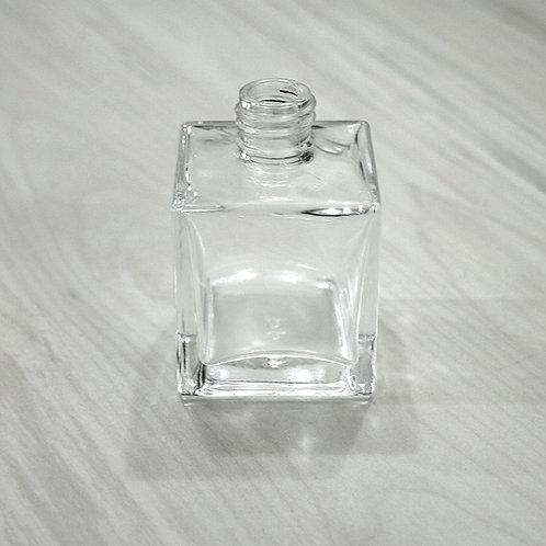 Frasco de Vidro Mini Cubo Transparente 50 ml 022984 R 18