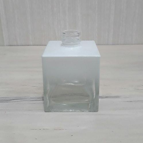 Frasco Sab. Cubo Degradee Branco R28 250 ml de Vidro 020388