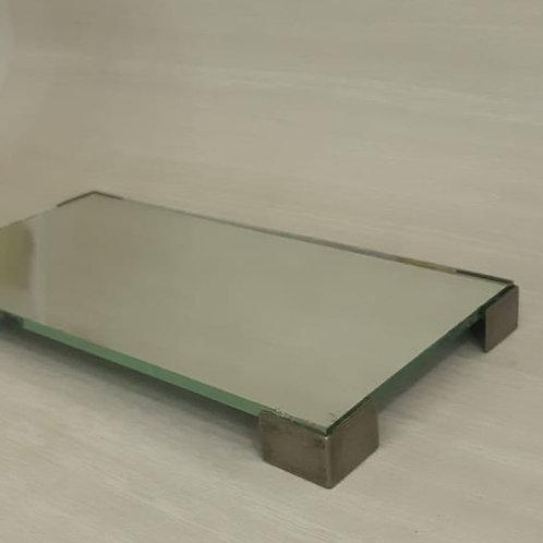 Bandeja Espelho 20x10 cm Pe Latonado Wi- 040112