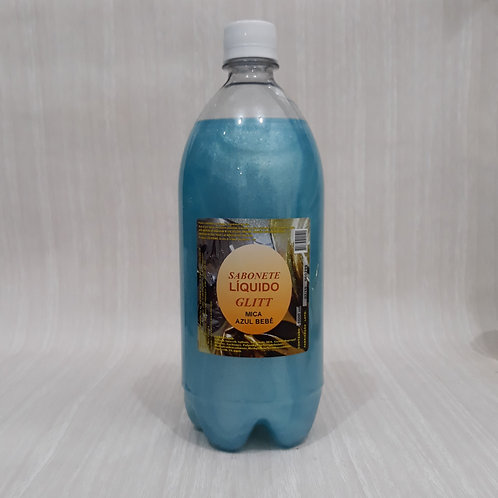 Base Sabonete Liquido Pigm. Buriti Azul Bebe (1L)- 060169